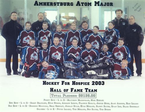 2003 Hall of Fame